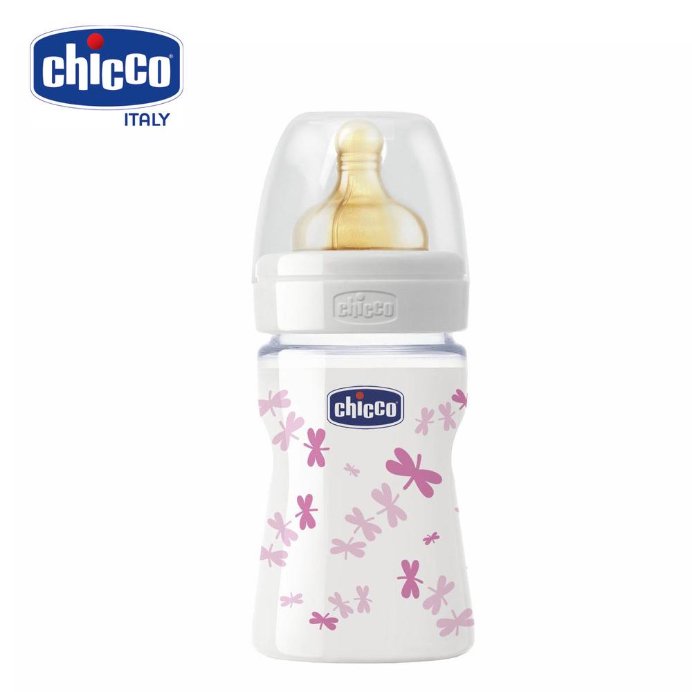 Bình sữa thủy tinh Chicco 150ml 08101
