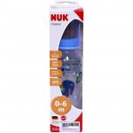 Bình sữa nhựa Nuk cổ hẹp 240ml 741606