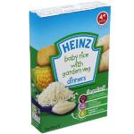 Bột Heinz 4+ vị gạo và rau củ