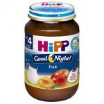 Dinh dưỡng đóng lọ Hipp Cháo sữa, hoa quả 5150 (190g)
