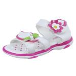 Sandal cho bé gái in hình hoa lá DN