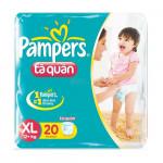 Bỉm quần Pampers XL18