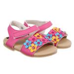 Sandal bé gái 10 bông sen