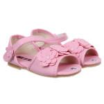 Sandal thời trang gót bông Hồng