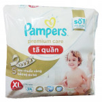 Bỉm quần Pampers Premium Care XL24