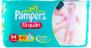 Bỉm quần Pampers M40