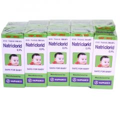 Nước muối sinh lý Natriclorid loại to 10ml (0,9%)