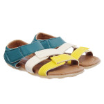 Sandal 2 quai phối màu