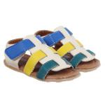 Sandal 3 quai phối màu