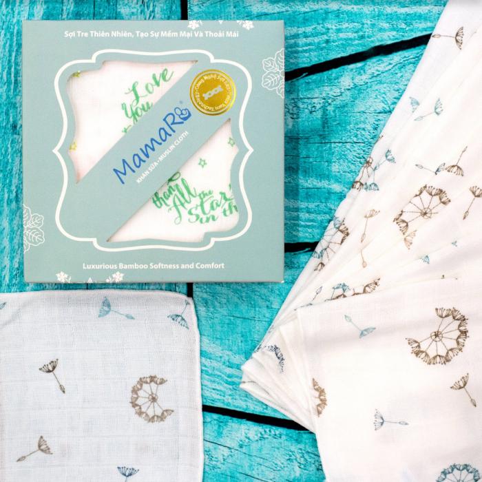 khăn sữa mamaru