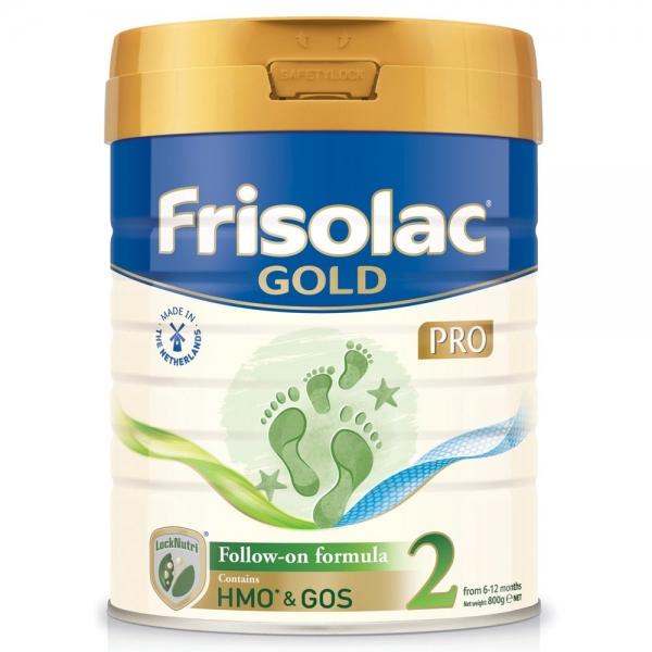 Sữa bột Frisolac Gold Pro số 2 800g
