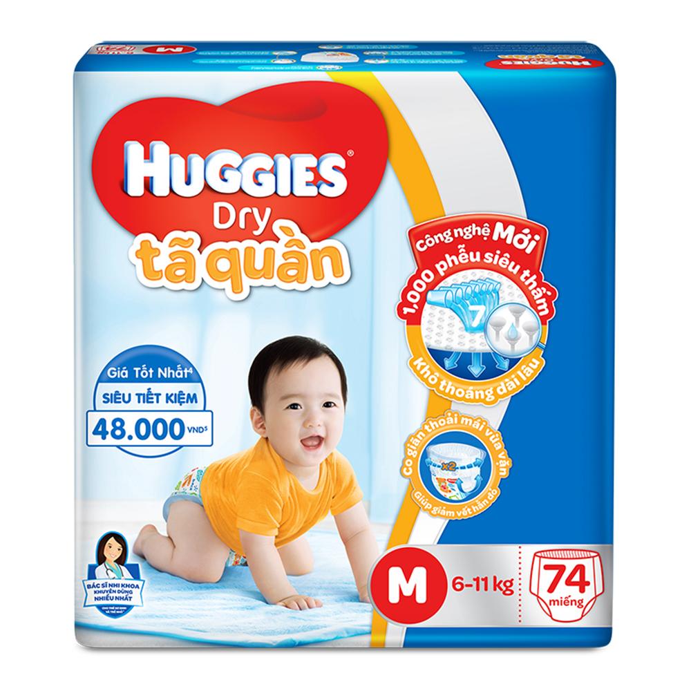 Bỉm Huggies an toàn cho bé