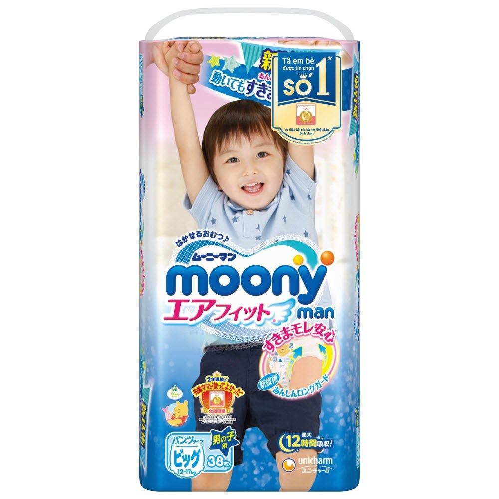 Bỉm Moony Nhật Bản cho bé