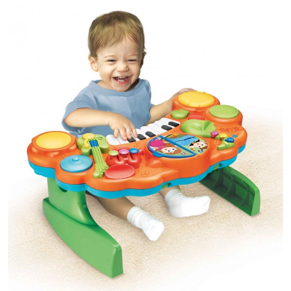 đồ chơi cho bé 1 tuổi phát triển trí não
