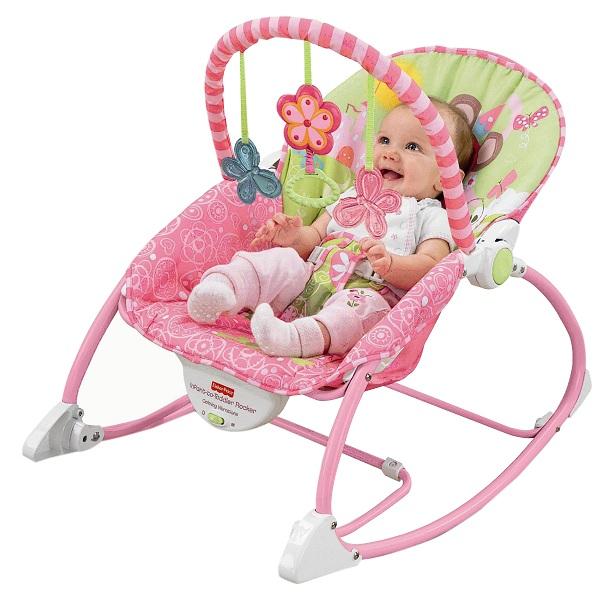 Ghế rung cho bé mang đến nhiều tiện lợi cho cả mẹ và bé