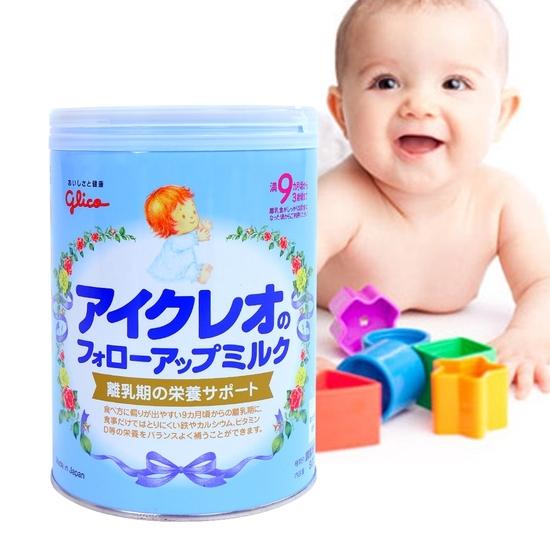 Sữa Glico Icreo nội địa Nhật cho bé