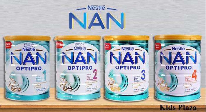 Sữa Nan Việt cho bé