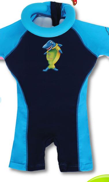 Bộ quần áo tập bơi cho bé Swimsafe màu Xanh