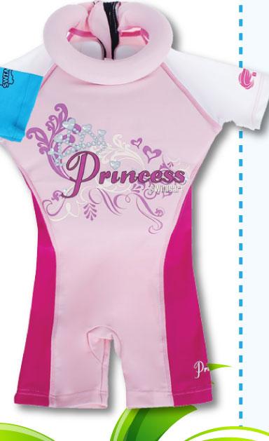 Bộ quần áo tập bơi cho bé Swimsafe Princess