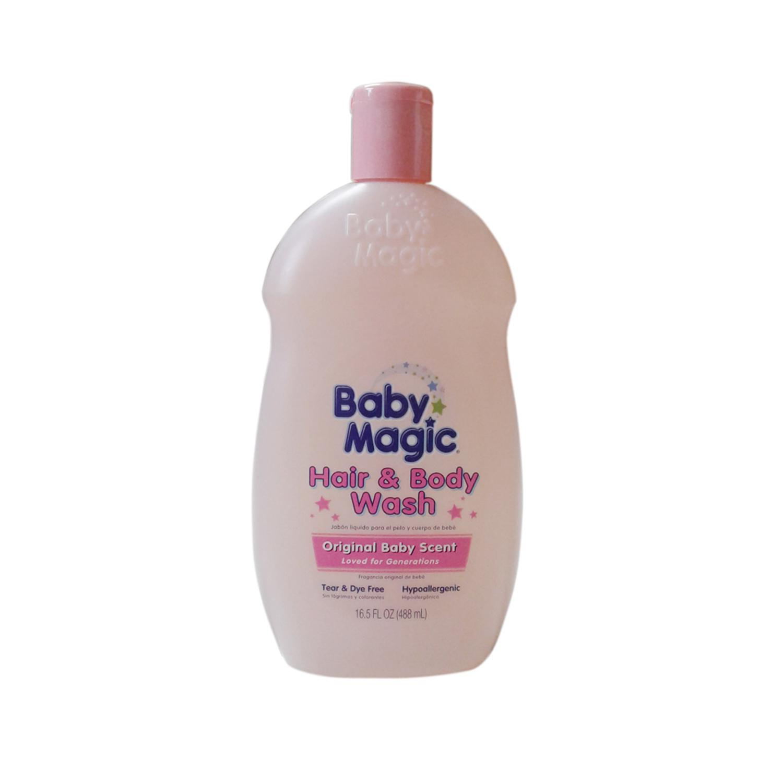Tắm gội Baby Magic màu hồng
