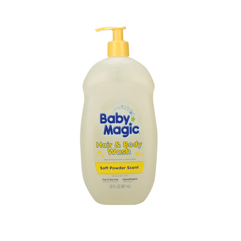 Tắm gội Baby Magic màu vàng