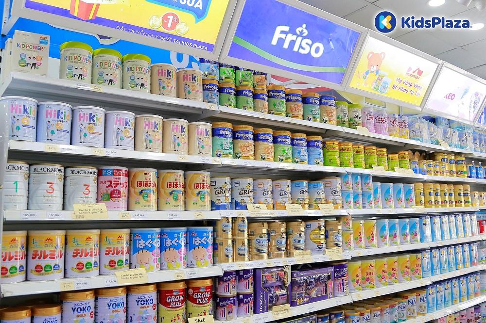 Phân loại sữa bột cho bé theo công dụng