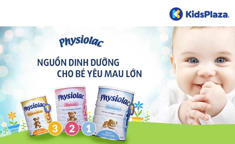 Công dụng của sữa Physiolac