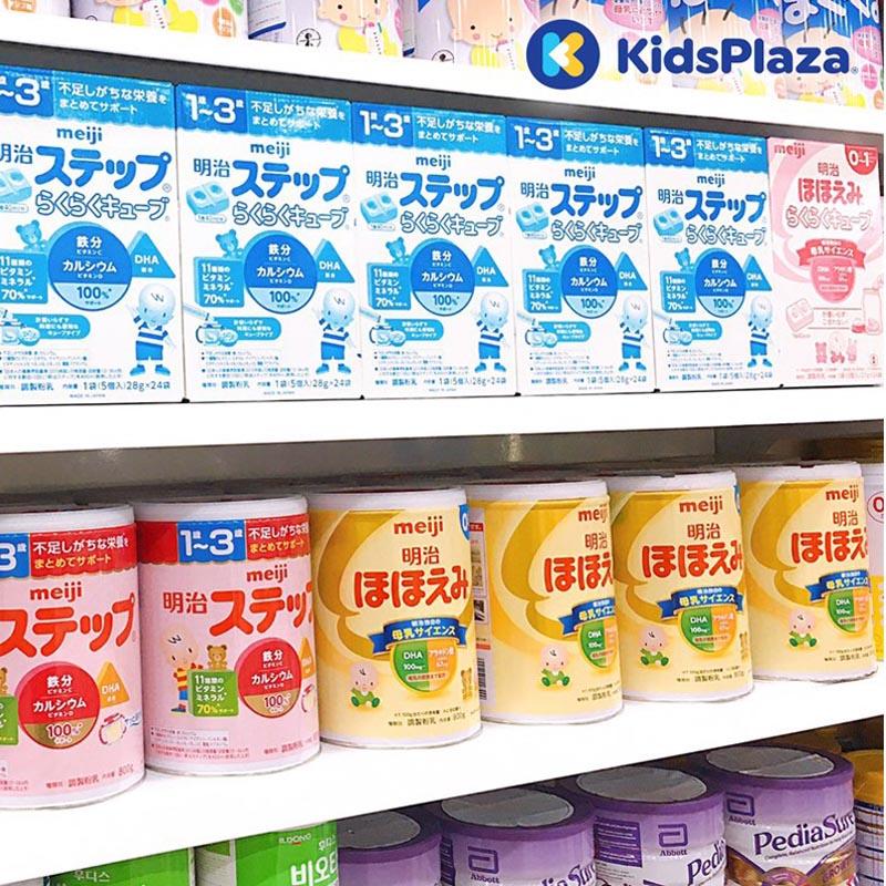 sữa meiji cho trẻ sơ sinh chính hãng