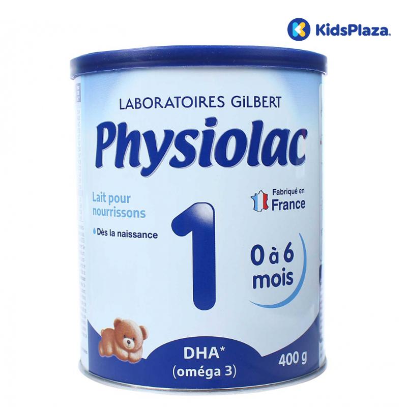 Sữa Physiolac số 1 cho bé từ 0-6 tháng tuổi