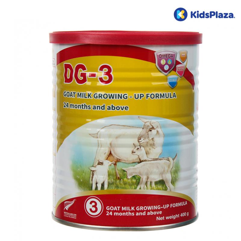 Sữa dê dành cho các bé trên 2 tuổi