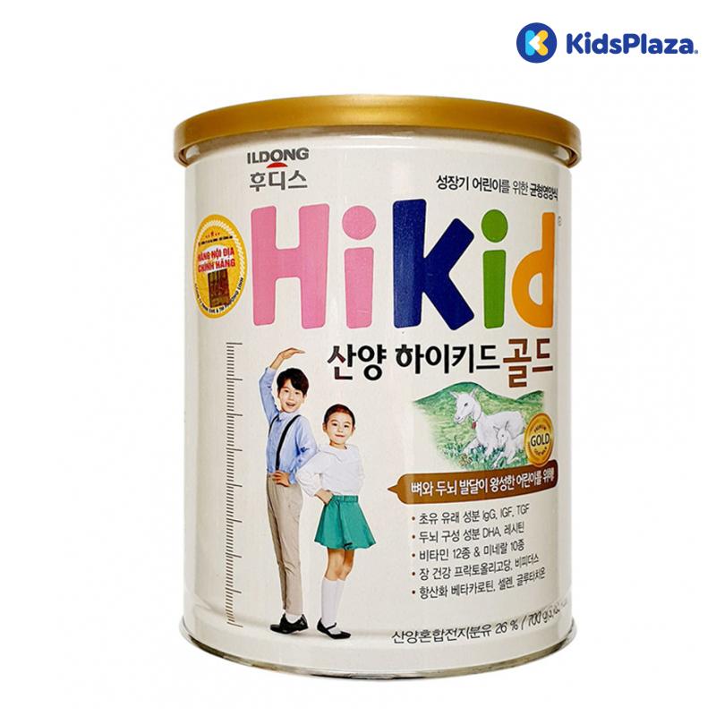Sữa dê HiKid Hàn Quốc cho bé từ 1-9 tuổi