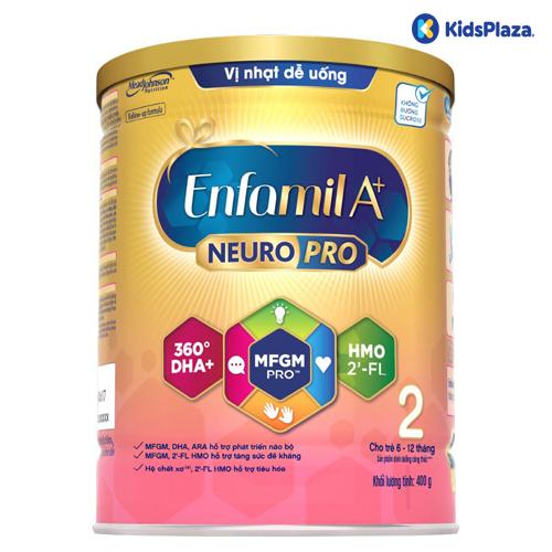 Sữa Enfamil A+ NeuroPro số 2 400g cho bé 6-12 tháng tuổi