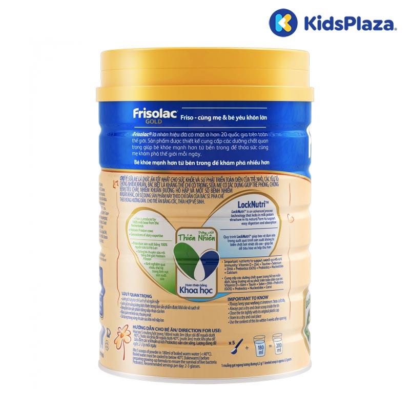 Sữa Frisolac Gold 3 400g cho bé 1-2 tuổi