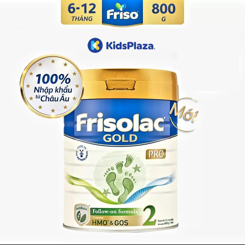 Sữa Frisolac Gold Pro 2 800g cho bé 6-12 tháng