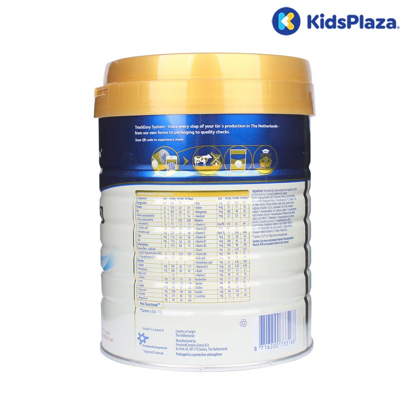 Sữa Frisolac Gold Pro 3 800g cho bé 1-3-tuổi