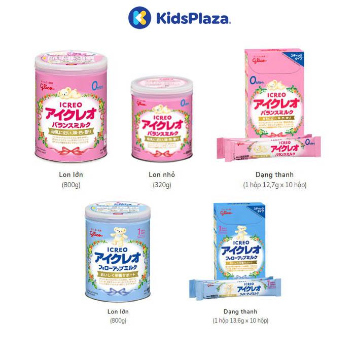 sữa glico icreo cho bé