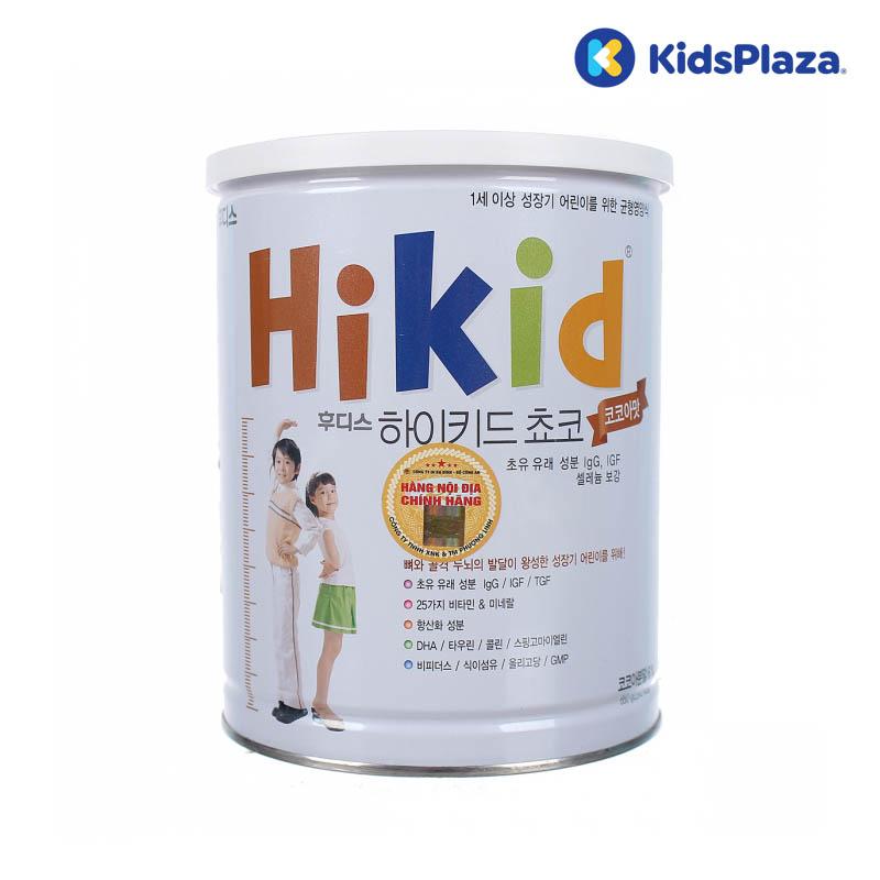 sữa Hikid socola Hàn Quốc 650g