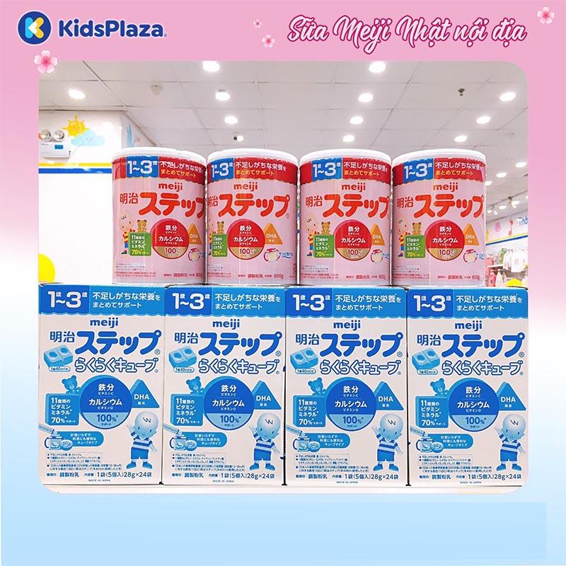 sữa meiji nội địa mẫu mới cho trẻ sơ sinh