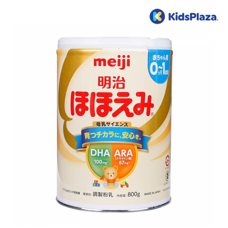 sữa meiji số 0 nội địa nhật 800g cho bé 0-1 tuổi