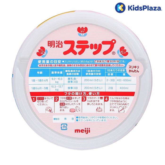 pha sữa Meiji số 9 cho bé