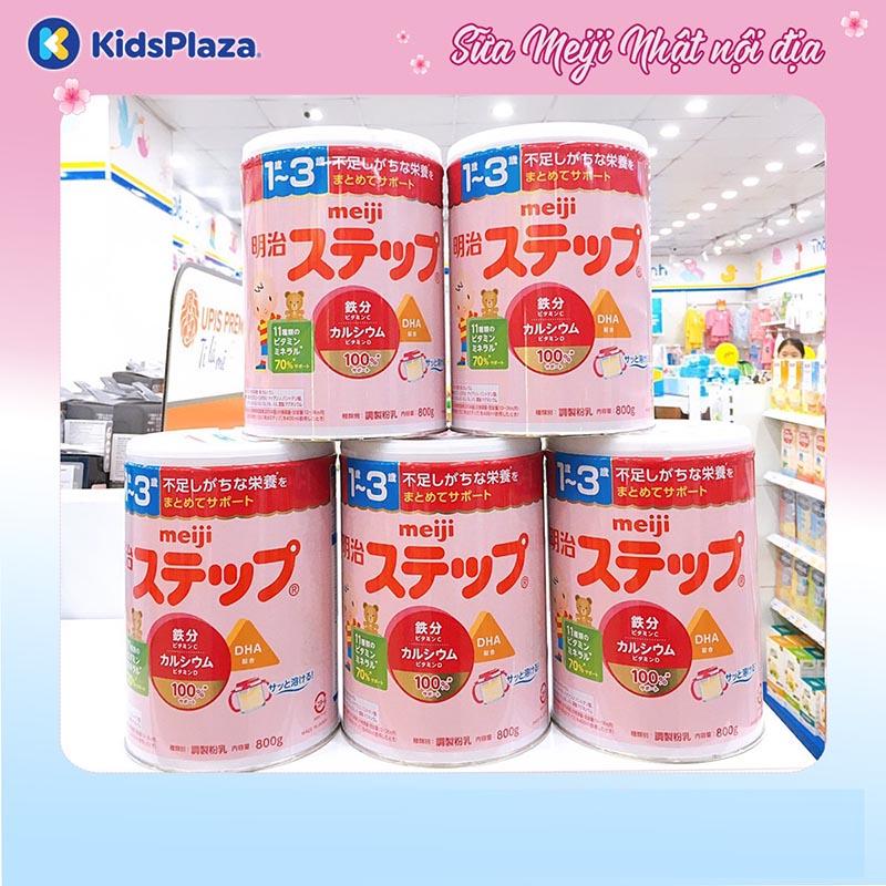 sữa Meiji số 9 nội địa dành cho các bé 1-3 tuổi