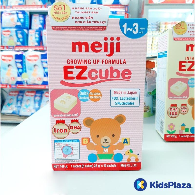 Sữa meiji infant formula ezcube 16 thanh