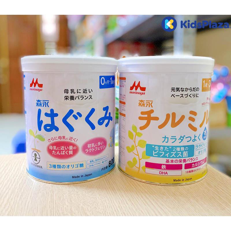 sữa morinaga cho trẻ sơ sinh
