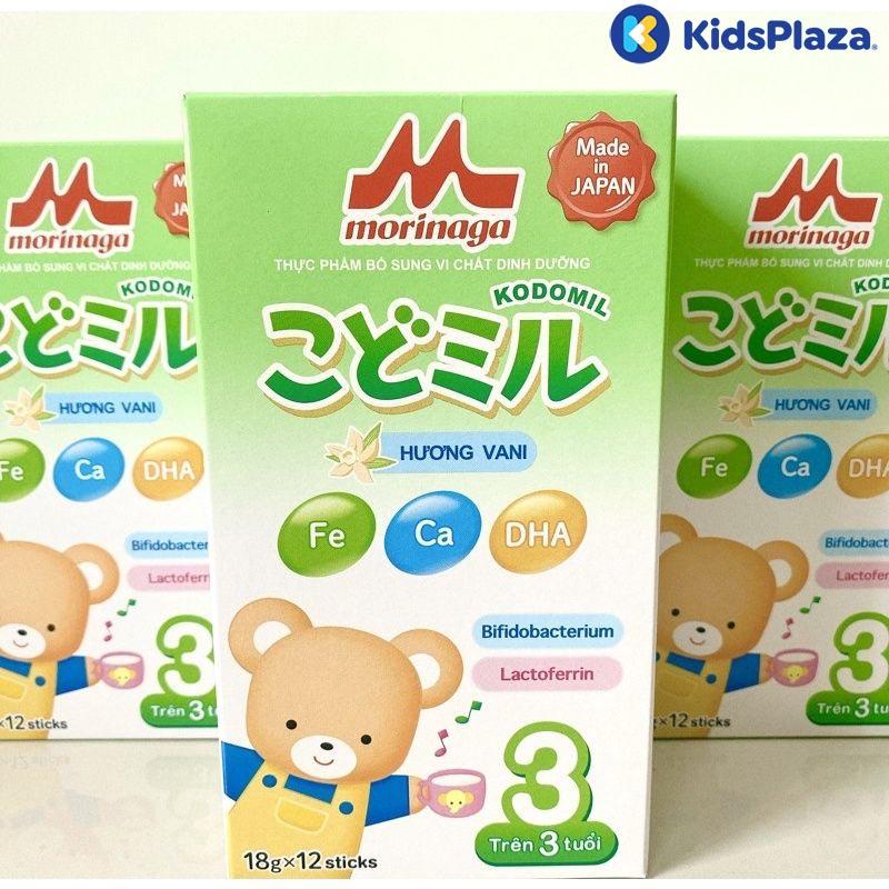 sữa morinaga kodomil số 3 hương vani dạng thanh