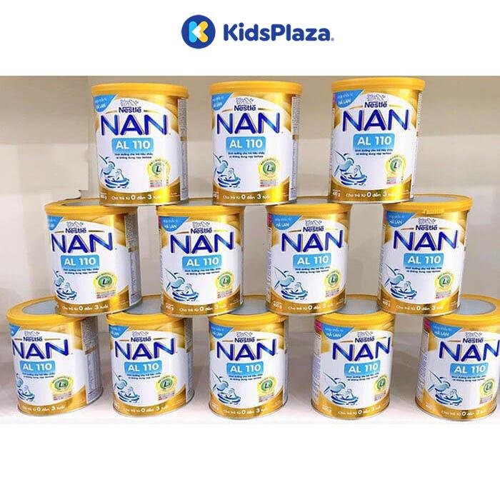 sữa nan al110 cho trẻ tiêu chảy