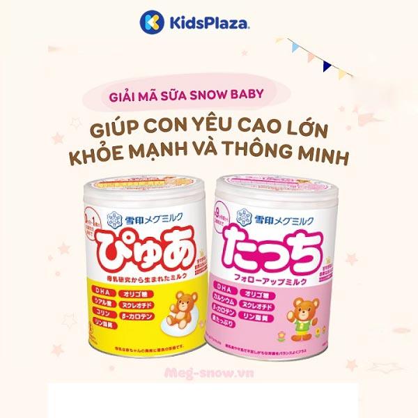 ữa Snowbaby Nhật cho bé thêm cao lớn