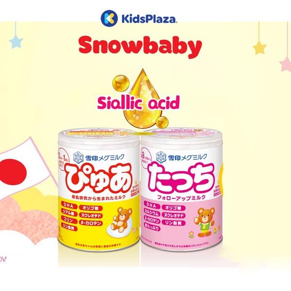ữa Snowbaby của Nhật cho bé