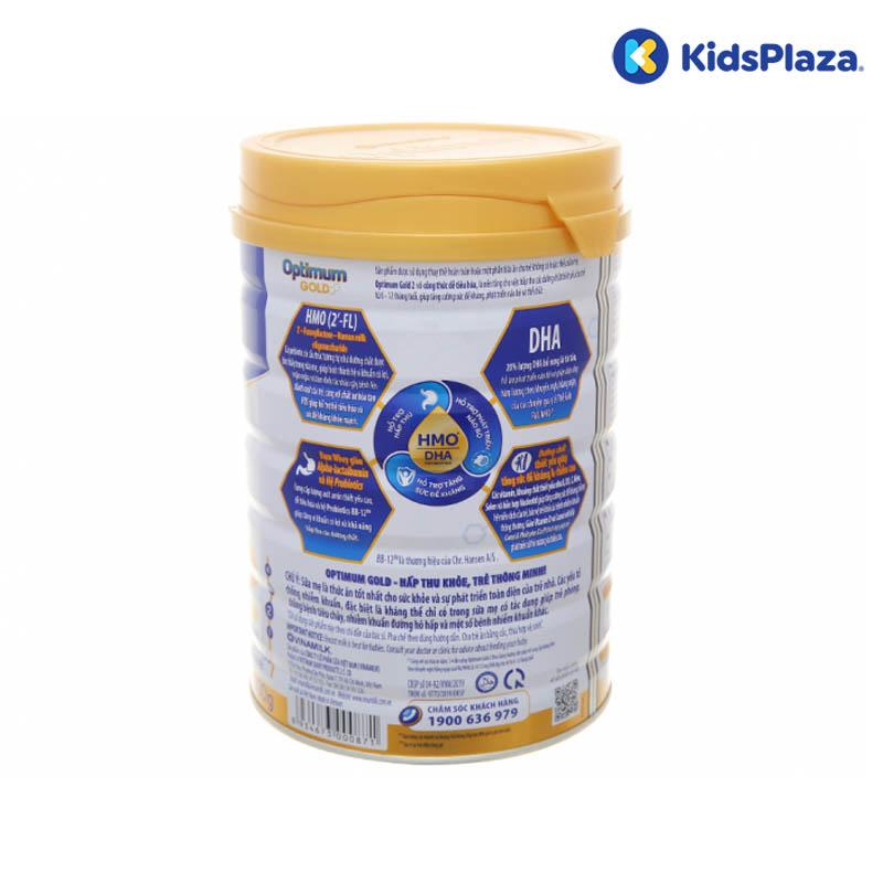 Sữa Vinamilk Optimum Gold 2 800g (6-12-tháng) nhiều ưu điểm vượt trội
