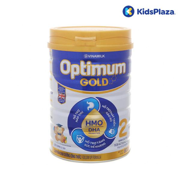 Sữa Vinamilk Optimum Gold 2 800g cho bé 6-12-tháng