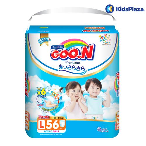 Bỉm tã quần Goon Premium size L 56 miếng